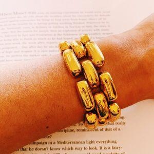 Jcrew Chunky Gold Link Bracelet |